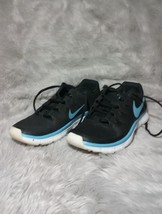 Nike Free Trainer 3.0 Hyper Black/Blue Athletic Shoes Size 6.5 - $37.00