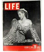 LIFE Magazine VTG Oct 11 1948 Rita Colton Russia Berlin Cold War Army Te... - $26.61