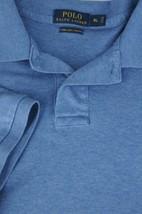 Polo Ralph Lauren Men's Blue Soft Cotton Casual Polo Shirt XL XLarge - $22.94