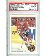 jeremy roenick blackhawks 1992 o pee chee premier hockey psa 9 - $9.99