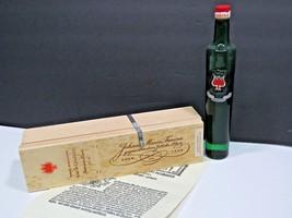 Vtg Johann Maria Farina Eau de Cologne Perfume France 1/2 Full Wooden Box - $47.52