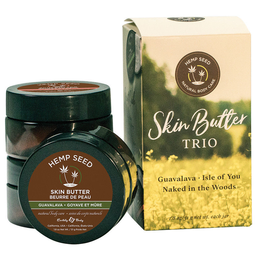 Earthly Body Skin Butter Gift Set Trio