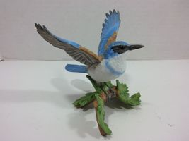 THE LENOX GARDEN BIRD COLLECTION Western Scrub Jay (2001 Fine Porcelain) image 5