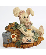 Boyds Bears Bearstone Resin Figurine Amelias Enterprise Carrot Juice - $22.49
