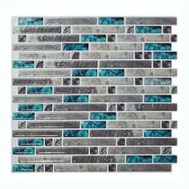 (Ship from USA) Stick Backsplash Tiles for Bathroom and Kitchen Peel and Stick T image 2