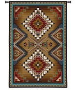 76x53 BRAZOS Southwest Native American Tapestry Wall Hanging - $289.95
