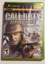 Call of Duty: Finest Hour - OG Xbox BL Black Label Video Game CIB Complete - $15.79