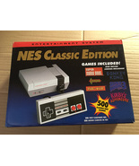 mini retro game console entertainment system nes classic edition with 50... - $39.99