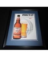 1992 Miller Sharp's Beer Framed 11x14 ORIGINAL Vintage Advertisement - $32.36