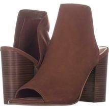 Steve Madden Tilt Slip On Sandals 977, Cognac, 11 US - $26.87