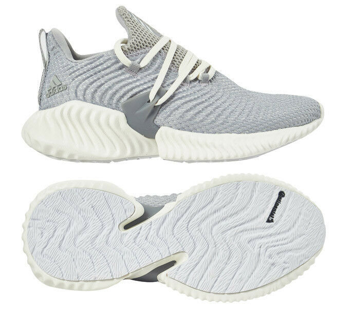 adidas alphaBOUNCE Instinct Women's Running Shoes Gray Fitness Gym NWT F36732