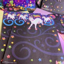Lisa Frank Vintage Rare Stationery Lot Ice Cream Cleocatra Fruit Elephant Dream image 4