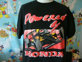 Vintage 90's Powered By Honda Racing 1994 T Shirt XL  - $37.61