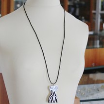 STAINLESS STEEL WOMAN BODY BIG PENDANT CHARMS, FINELY WORKED, BY KATIA D'ANGELO image 3