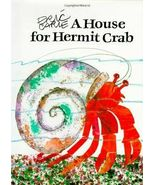 """A HOUSE FOR HERMIT CRAB by Eric Carle LIKE NEW HARDCOVER Lg 11 5/8""""x 8 1... - $9.74"""