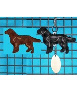 Flat-Coated Retriever crate tag or hang anywhere, flat coated dog, color... - $19.00