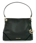 Michael Kors Nicole Shoulder Bag Black Leather Medium Handbag RRP £320 - $304.54