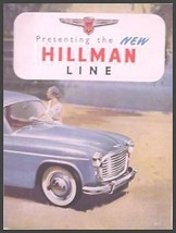 1955 1956 Rootes Hillman Minx Brochure, Californian - $13.70