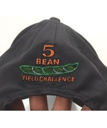 Asgrow 5 Bean Yield Challenge Baseball Cap Hat Navy Blue Embroidered Soy... - $16.79