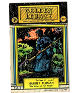Golden Legacy Illustrated History Magazine - The Saga of Harriet Tubman ... - $4.95
