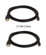 TWO 2 USB Cables for Fuji FujiFilm T200 T300 T310 T350 T360 T400 T410 XP... - $9.83