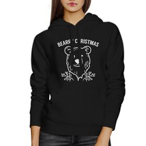 Bearry Christmas Bear Black Hoodie - $25.99+