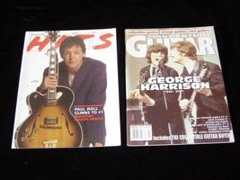 Beatles Magazine Lot 20th Century Guitar January 2002 Hits #928 Septembe... - $19.99