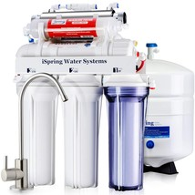 iSpring RCC7AK-UV 75GPD 7-Stage Under Sink Reverse Osmosis RO Drinking W... - $230.40
