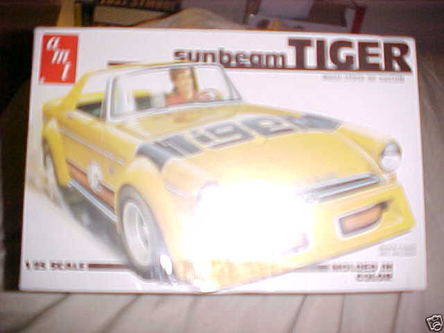 Primary image for AMT Sunbeam Tiger Plastic Model Car Kit 1/25   - - BRAND NEW