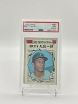 1970 TOPPS MATTY ALOU #460 PSA 7 NM(MC) - $98.01
