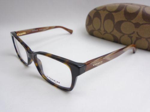 Coach HC6047 5204 Women's Eyeglasses 49/16 135 w/Case /EUF607