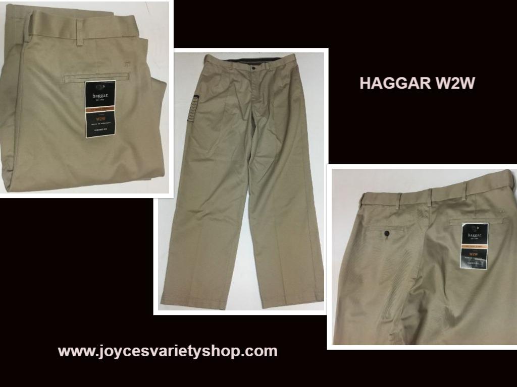 Haggar beige pants 36 x 32 web collage