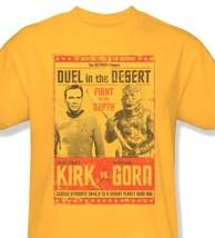 Star Trek Kirk vs Gorn T-shirt Free Shipping original TV series cotton cbs1112 image 2