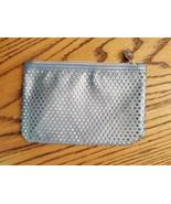 Ipsy Makeup Glam Bag January 2017 Metropolis Ice Blue Cosmetic Travel Ca... - $9.87