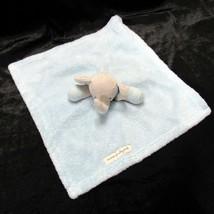 Blankets and Beyond Elephant Blue Gray Security Lovey Nunu Baby Boys Sew... - $25.99