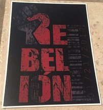 Crash Stable La Rebelion Logo Sticker, Daga, Pentagon Jr., Fenix, Garza ... - $8.77