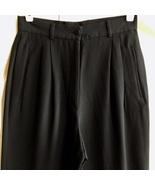 Giorgio Armani black Silk dress pants 40 (2) - $69.95