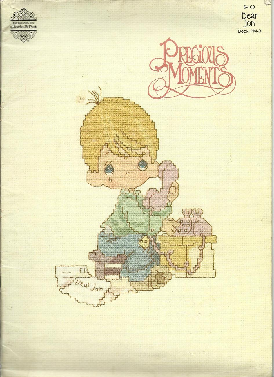 Precious Moments dear Jon 1982 counted thread Cross Stitch patterns