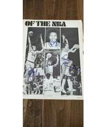 1977-78 NBA Cerchio Recluta Foto Quad Autografato Marques Johnson Benson... - $49.92
