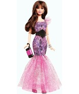 Barbie Fashionistas in The Spotlight Gown Doll, Purple Gown - $69.30