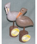 K's Collection Nautical Series-Wooden Pelican Figurines - Hand Painted- ... - $8.95