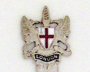 Souvenir Spoon - International - City of London, England