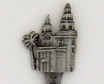 Souvenir Spoon - Travel Commemorative - Hearst Castle