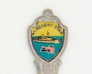 Souvenir Spoon - Travel Commemorative - M/V Regent Star