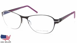 NEW PRODESIGN DENMARK 6120 c.6022 BLACK EYEGLASSES FRAME 52-17-135 B38mm... - $98.98