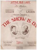 Little Old Lady - Hoagy Carmichael & Stanley Adams 1936 Sheet Music - $4.95
