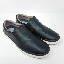 Cole Haan Mens Falmouth Slip-On Shoes Black C14531 Round Toe Low Top 10 M - $30.99