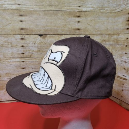 Family Guy TV Show Evil Monkey Hat Baseball Cap Fitted L/XL Embroidered
