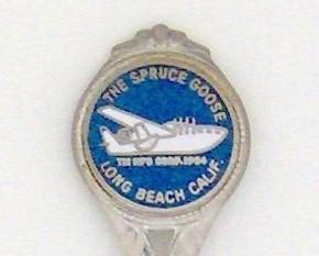 Souvenir Spoon - Travel Commemorative - The Spruce Goose