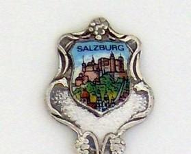 Souvenir Spoon - International - Salzburg, Austria